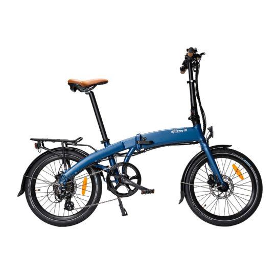 eflizzer klappbares E-Bike Sprint Premium blau - Produktbild