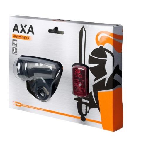 eflizzer AXA Greenline Licht Set Vorder- und Rücklicht