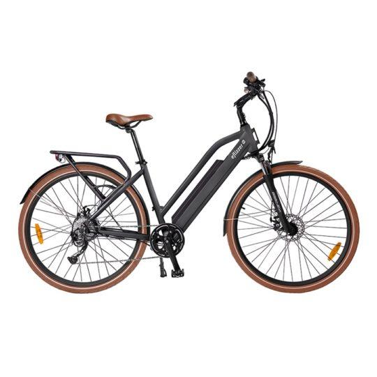eflizzer City E-Bike City Vintage grau - Produktbild